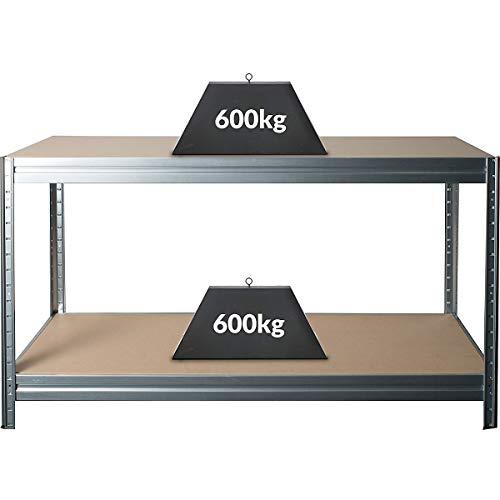 Höhenverstellbare Werkbank | HxBxT 870 x 1600 x 600 mm | Tiefe 60 cm | Traglast 600 kg | Werktisch...