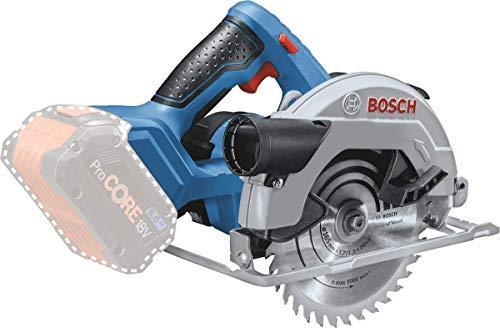 Bosch Professional 18V System Akku-Handkreissäge GKS 18V-57 (Sägeblatt-Ø: 165 mm, Schnitttiefe: 57 mm, ohne...