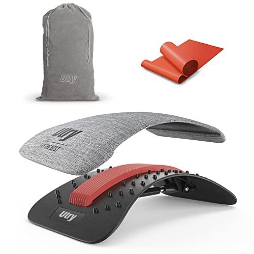Utry Rückenstrecker zur Schmerzlinderung und Entspannung, Rückenmassagey für untere und oberen Rücken &...