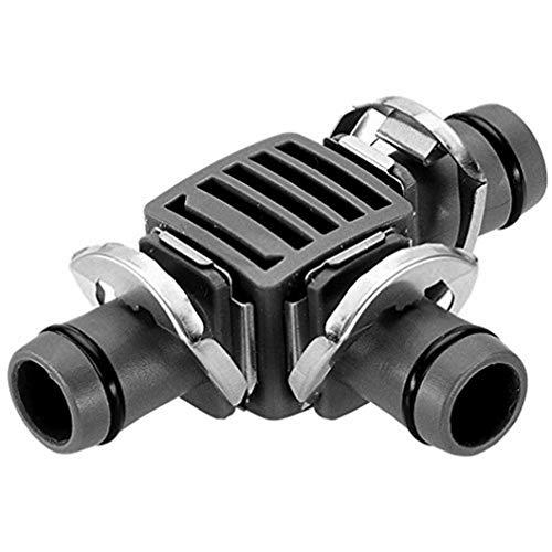 Pieza en T 13 mm Quick & Easy Blister de 2 derivaciones. Con el sistema de conexión'Quick & Easy'.