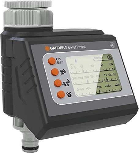 Gardena Bewässerungscomputer EasyControl: Bewässerungssteuerung, tägliche Bewässerung oder jeden 2/3/7...