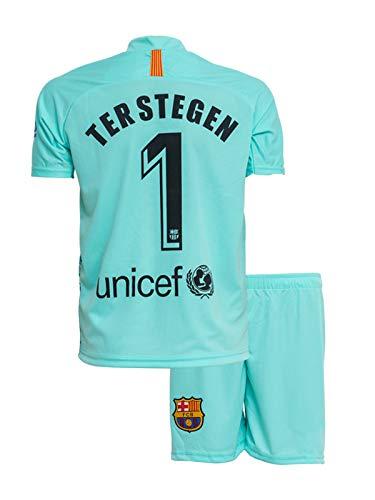 ATB Barcelona #1 TER Stegen 2018/19 Heim Kinder Trikot und Hose (176)