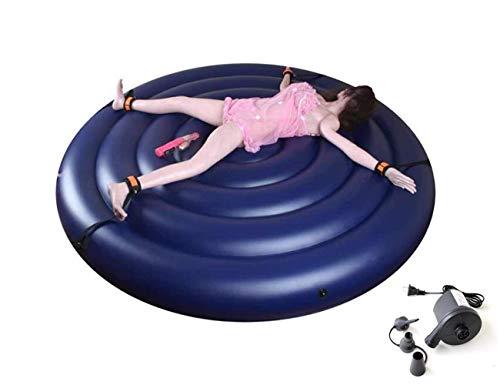 Dyl2019 Magische aufblasbares Sofa tragbares Bett entspannt Runde Kissen Wasserdichtes Möbel for Männer...