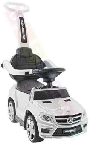 BSD Kinderauto, Rutscher, Rutschauto mit Schaukel Funktion: Mercedes GL63 AMG SX1578 - Weiß