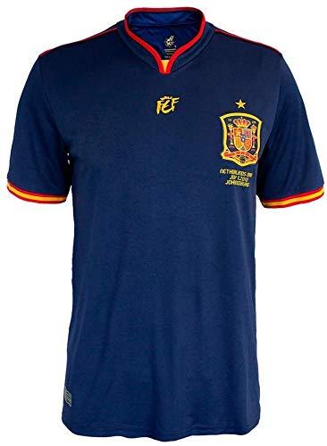 Spanien offizielles Gedenkhemd Weltmeisterschaft Südafrika 2010