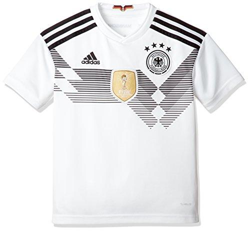 adidas Kinder Dfb Heim Replica Trikot, Weiß (White/Black), 152