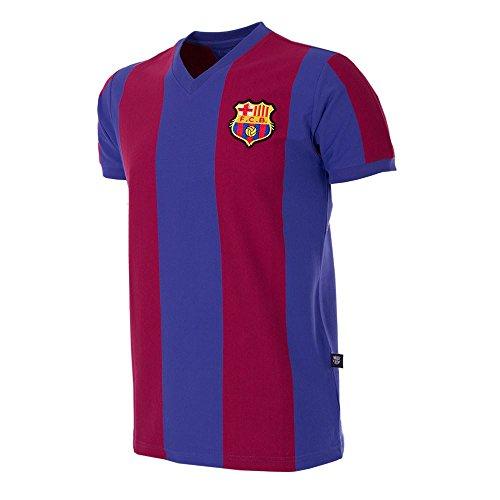 COPA - FC Barcelona Retro Fussball Trikot 1976-1977 (XL)