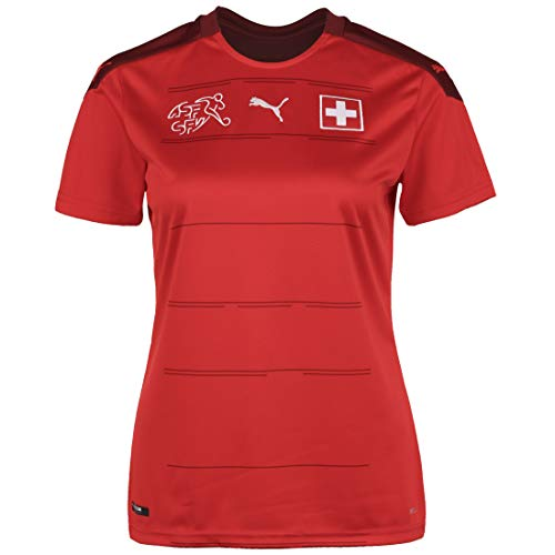 PUMA Damen SFV Home Shirt Replica W Trikot, Red-Pomegranate, L