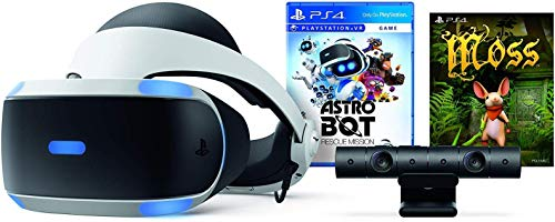Playstation VR – Astro BOT Rescue Mission + Moss Super Bundle: Playstation VR Headset, Playstation Kamera,...