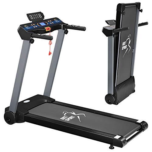 ArtSport Laufband Speedrunner 2500 elektrisch klappbar 12 km/h | 12 Programme | LCD Display | bis 120 kg...