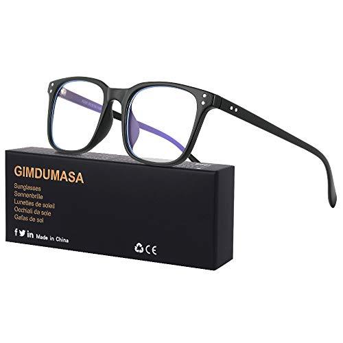 Gimdumasa Blaulichtfilter Brille Computerbrille Pc Gaming Bluelight Filter Uv Blueblocker Glasses Anti Damen...
