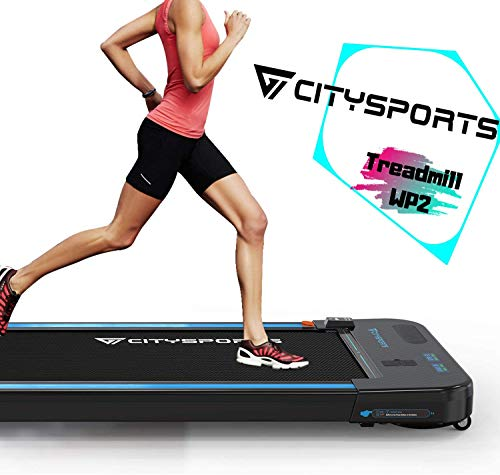CITYSPORTS Laufband mit 440 W Elektromotor, integrierte Bluetooth-Lautsprecher, einstellbare Geschwindigkeit,...
