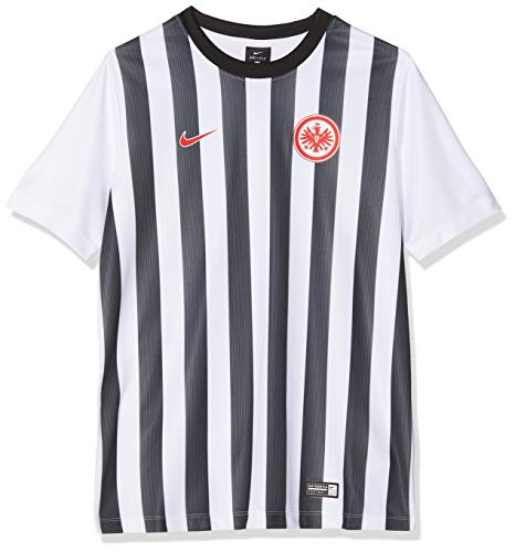 Nike Kinder Eintracht Frankfurt Dry Supporters Trainingsshirt T-Shirt, schwarz, 158/170