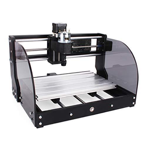 Desktop-CNC-Fräsmaschine, 3-Achsen-Lasergravurfräsmaschine für Holzacrylkunststoffe