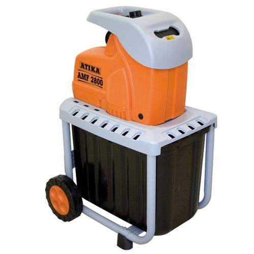 ATIKA AMF 2800 Messerhäcksler Gartenhäcksler Elektrohäcksler Schredder | 230V | 2800W