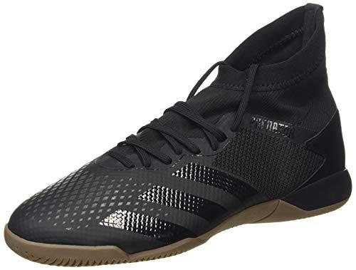 adidas Herren EE9573_45 1/3 Indoor Football Trainers, Black, EU