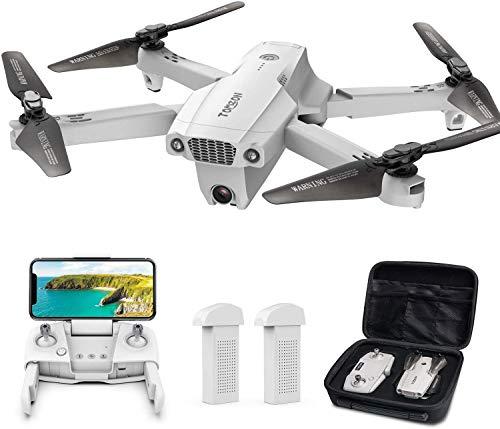 Tomzon Faltbare GPS Drohne mit 4K UHD Kamera, FPV RC Quadcopter mit automatischer Rückkehr nach Hause, Follow...