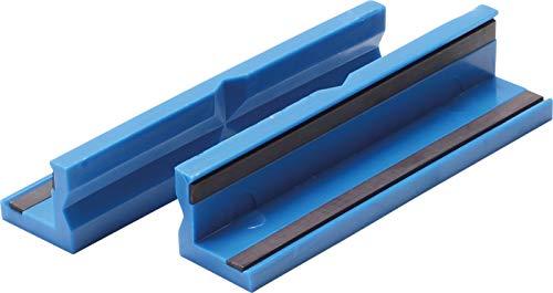 BGS 3046 | Schraubstock-Schutzbacken | 2-tlg | Kunststoff | Breite 125 mm | mit Magnet | Schonbacken