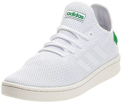 Adidas Herren Court Adapt Tennisschuhe, Weiß Ftwbla/Green 000, 44 EU
