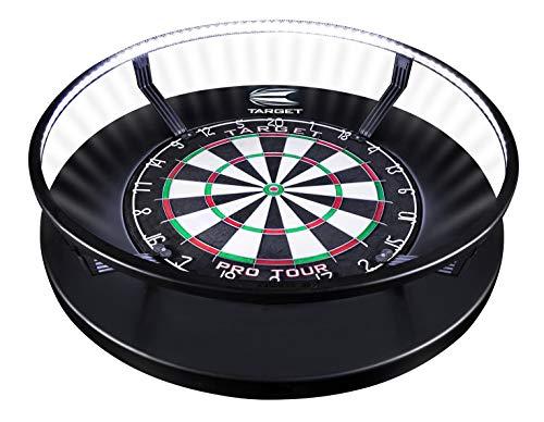 Target Darts Corona Vision Dartboard-Beleuchtungssystem Dartboardschränke & Kabinette, Schwarz, mit Weißem...