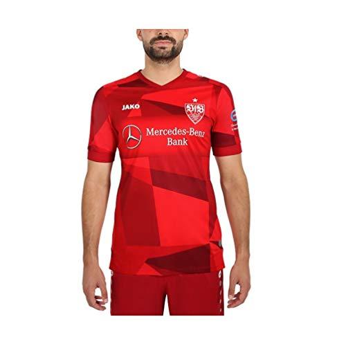 JAKO Herren VfB Stuttgart Away Trikot, rot, XL