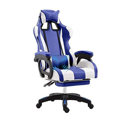 IRVING Gaming Chair für High End PC/PS4/XBOX/Nintendo, ergonomischer Schreibtischstuhl fürs Büro aus...