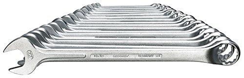 GEDORE Ring-Maulschlüssel-Satz, 17-teilig, SW 6-22 mm, gekröpft, 12-kant, UD-Profil, Schraubenschlüssel...