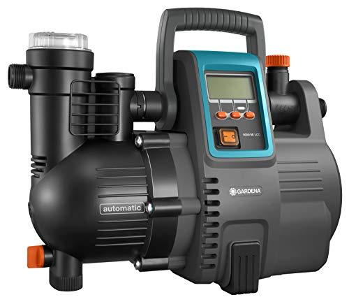 Gardena Comfort Hauswasserautomat 5000/5E LCD: Hauswasserpumpe mit LC-Display, energiesparend, Fördermenge...
