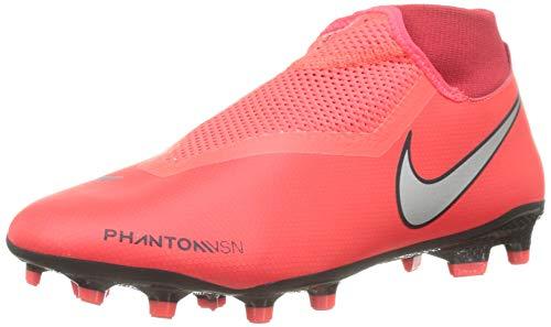 Nike Unisex-Erwachsene Phantom VSN Academy Dynamic Fit MG Fußballschuhe, Mehrfarbig (Bright Crimson/Metallic...