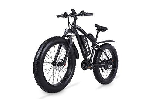 VOZCVOX Elektrofahrrad Ebike Mountainbike, 26' Elektrisches Fahrrad mit 48V 17Ah Lithium-Batterie und Shimano...