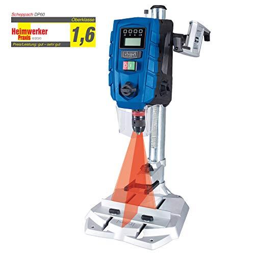 Scheppach DP60 Tischbohrmaschine mit Digitaldisplay LED und Laser Bohrmaschine 13 mm  710 W   Drehzahl: 170...
