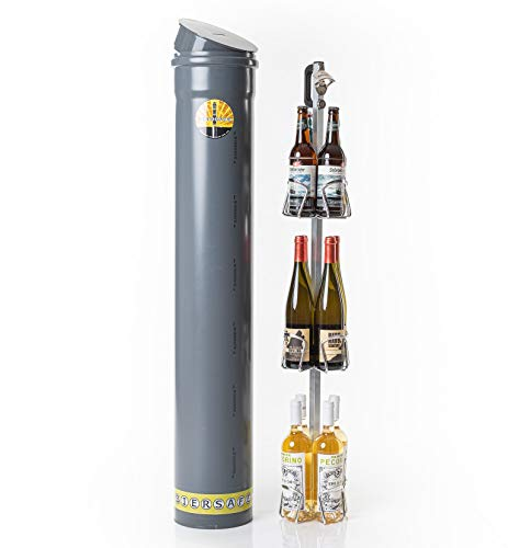 BIERSAFE WEINSAFE Wein- und/oder Bier-Flaschen Garten- Natur-Kühlschrank/Getränke-Kühler, Kühl-Gerät ohne...