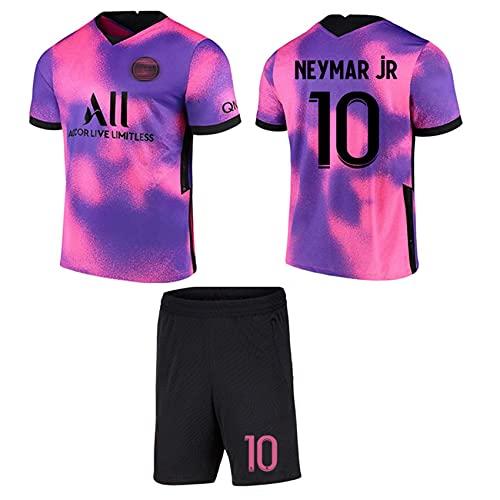 cjbaok Unisex Fußball Trikot für Kinder und Erwachsene Herren Jersey, Jordan Point of View 7# Mbappé 10#...