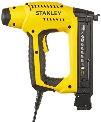 Stanley HD Elektrotacker (2,5 m Kabellänge, Soft Grip, Sicherheitskontakt-Schalter, Krafteinstellrad)...