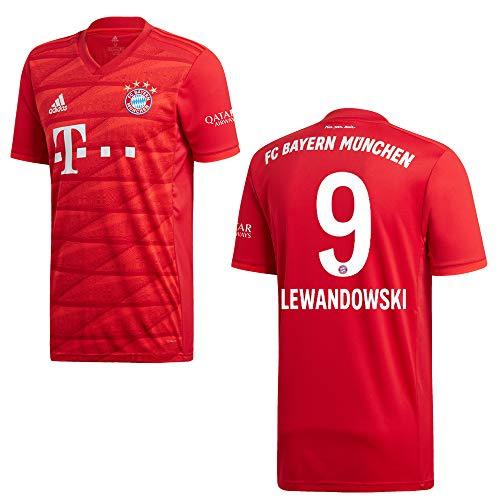 adidas Bayern Trikot Home Kinder 2020 - Lewandowski 9, Größe:140