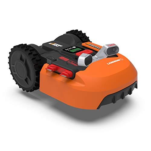 WORX Landroid WR900E Mähroboter – Akkurasenmäher für kleine Gärten mit bis zu 500m² – Selbstfahrender...