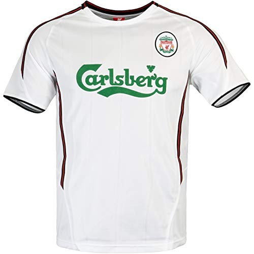 FC Liverpool Retro Trikot 03/04 (L, White)