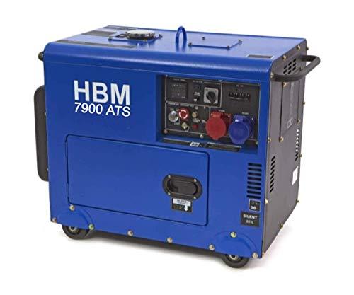 13PS Silent 7900W ATS Diesel 230v 400v Stromgenerator, E-Start, luftgekühlt, Ölmangelsicherung,...