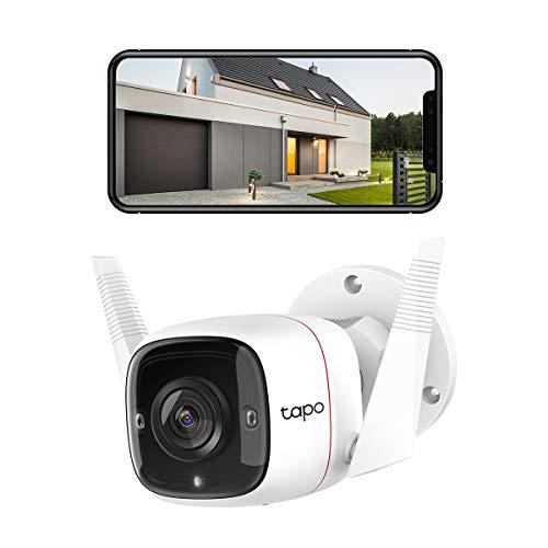 TP-Link Tapo C310 Überwachungskamera Außen, WLAN IP Kamera, 3MP Hochauflösung, 30m Nachtsicht,...