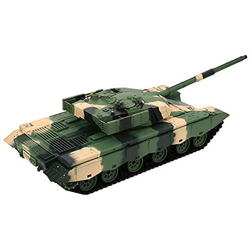 Bnineteenteam 1/16 RC Panzer, 2,4G Multi-Frequenz 100 Meter Fernsteuerungsabstand Modell Panzer mit Light...