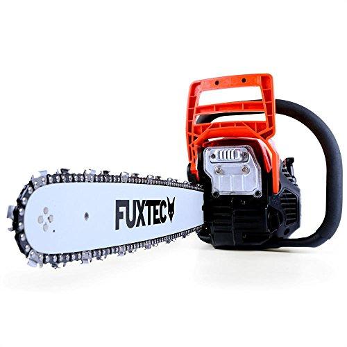 FUXTEC Profi Benzin Kettensäge FX-KSP155 Schwert 45 cm Kette 55 cc Motorsäge MS Motorkettensäge PS Säge...