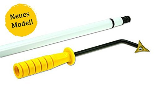 FugenKing Evolution Unkrautkratzer mit langem Stiel - Unkraut Fugenkratzer zum entfernen und reinigen von...