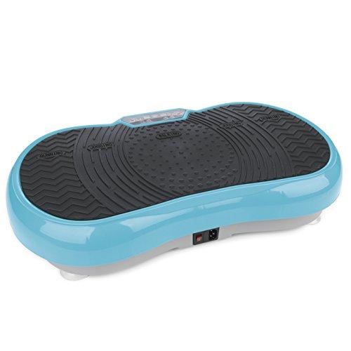 VITALmaxx Vibrationsplatte mit 99 Vibrationsstufen und 10 Programmen und LCD-Display |gelenkschonendes...
