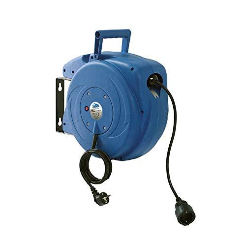 as - Schwabe Automatischer Kabelaufroller für den Innenbereich – 15 m Kupplungsleitung & 1,5 m...