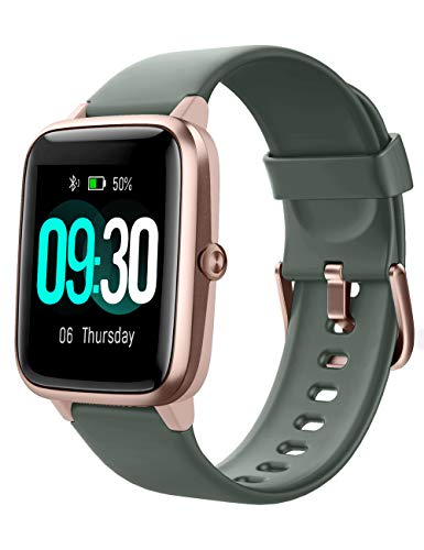 Willful Smartwatch,1.3 Zoll Touch-Farbdisplay Fitness Armbanduhr mit Pulsuhr Fitness Tracker IP68 Wasserdicht...