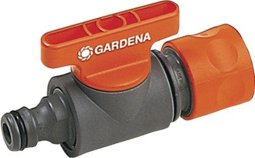 Gardena Regulierventil: Ventil zur Regulierung und Absperrung des Wasserdurchflusses eines Schlauches am...