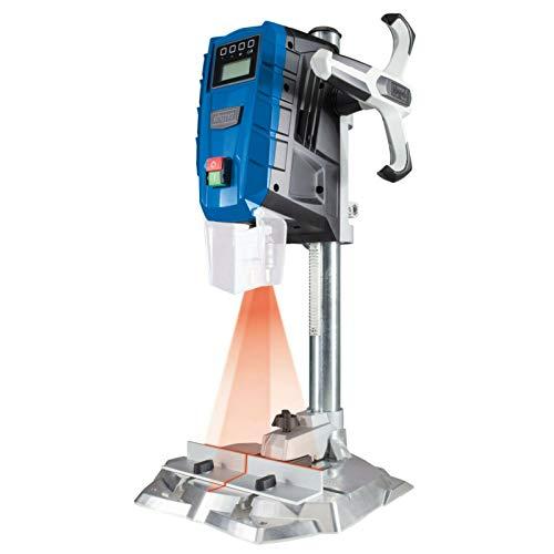SCHEPPACH DP55 Tischbohrmaschine Bohrmaschine 13 mm LED Laser   710 W   Drehzahl: 500 – 2600 min-1  ...