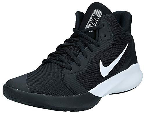 Nike Herren Precision Iii Basketballschuhe, Schwarz (Black/White 000), 43 EU(8.5UK)
