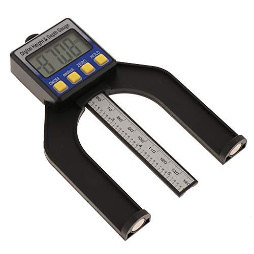 Digital Tiefenmesser Höhenmesser, Selbst Stehende Tiefenlehre mit Magnetischen Füßen, Perfekt für...