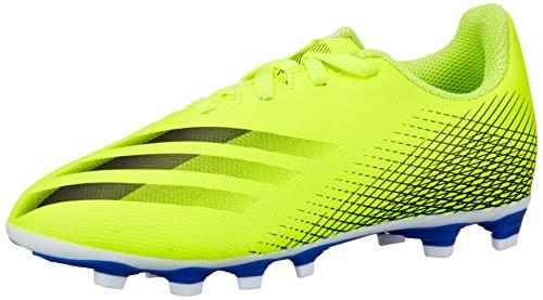 adidas X Ghosted.4 FxG J Fußballschuhe Unisex Kinder, Mehrfarbig - Mehrfarbig (Amasol Negbas Azura) -...